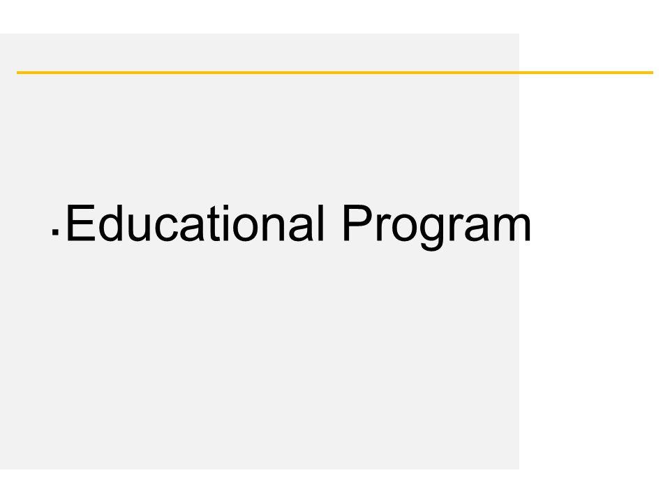Date ▪ Educational Program