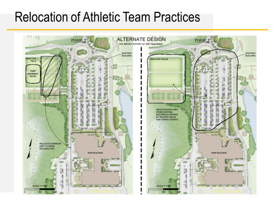 Date Relocation of Athletic Team Practices