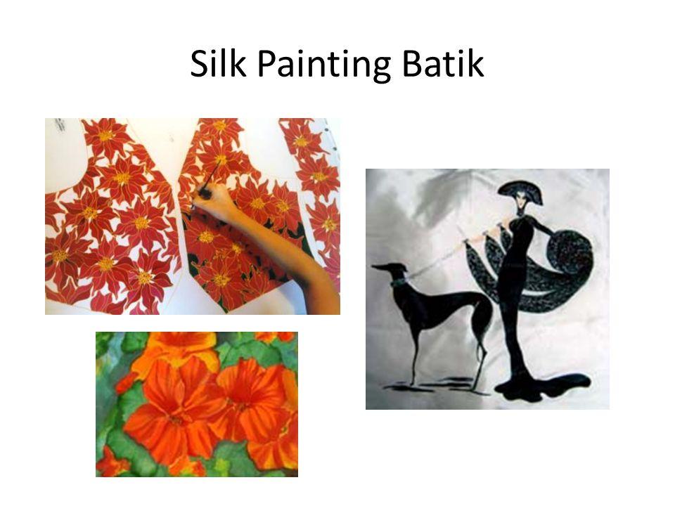 Silk Painting Batik
