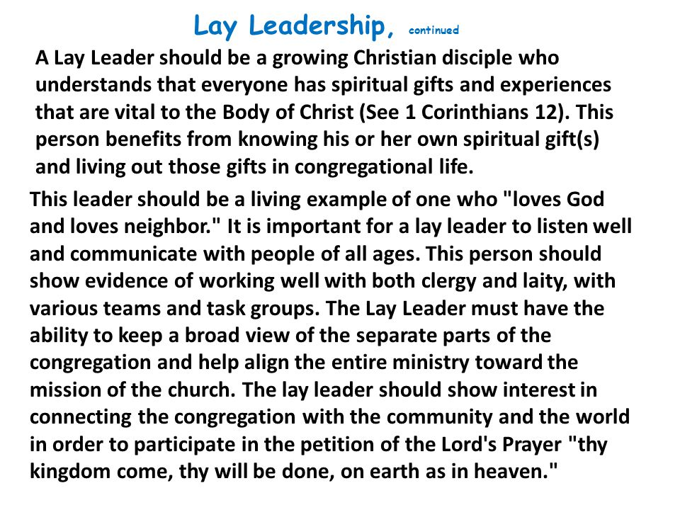 Vital churches place an emphasis on rotating lay leadership in order to involve more people over time. How can vital churches establish a system that