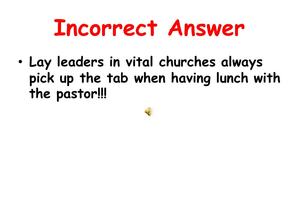 Correct Answer Vital congregations stagger a three year rotation of lay leaders in key leadership positions.