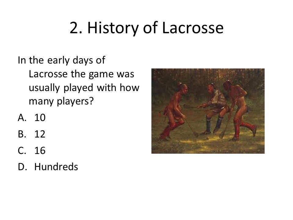 19.Identify the leadership skills below needed for Lacrosse.