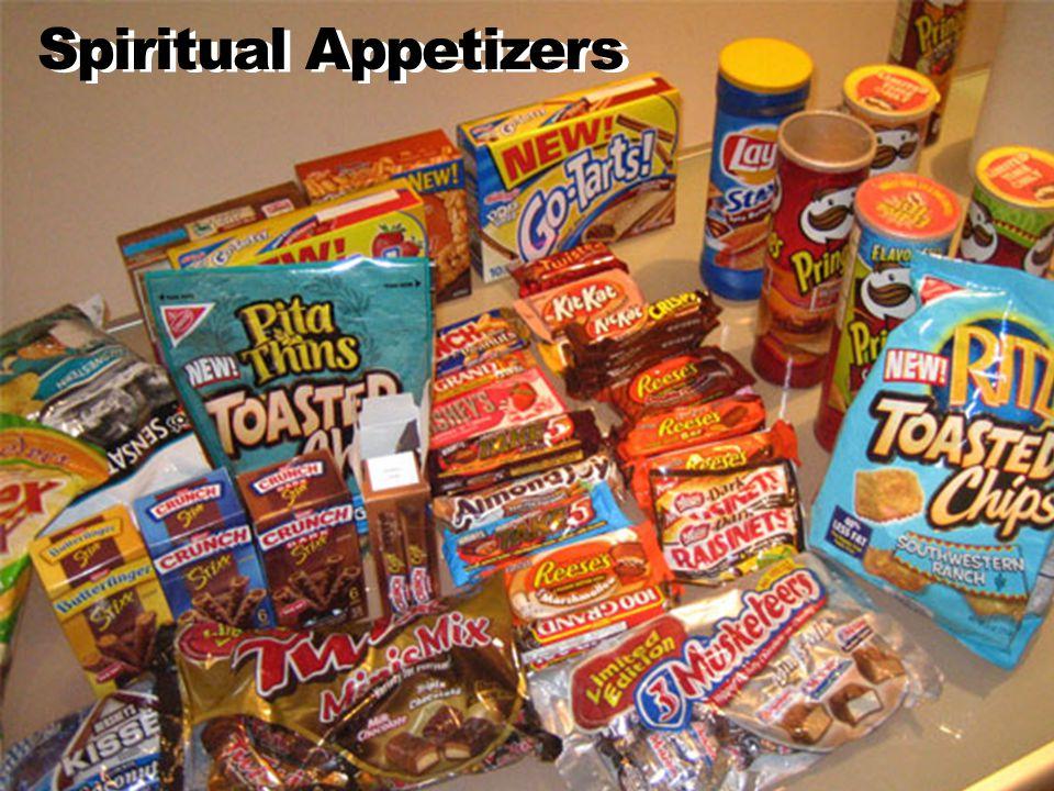 Spiritual Appetizers