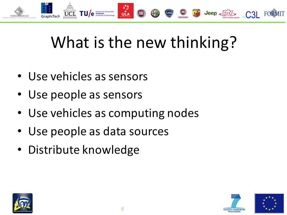 8 What is the new thinking.