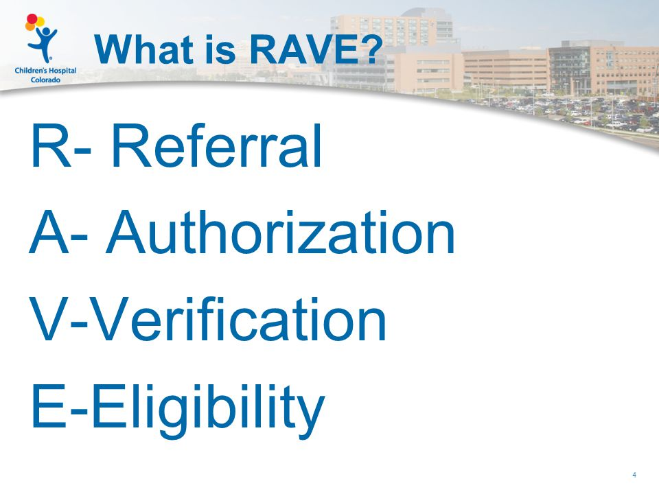 Structure of Patient Access Prior to RAVE go-live  Patient access included: Admissions (Main and ED) Financial Counseling IV staff (6 FTE)  Inpatient, Ambulatory Surgery, and Observation patient populations Both scheduled and non-scheduled cases Function as a safety net Accounts worked via Ontrac tool 5