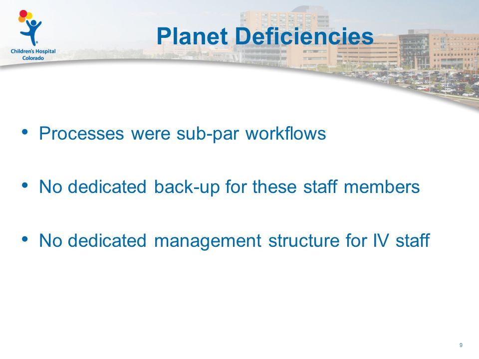 As the Planets Start to Align… Concept born 4 years prior  VP of Ambulatory Services  VP of Finance  PFS  PAS  Managed Care 10