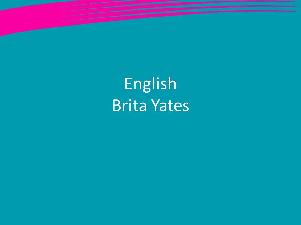 English Brita Yates