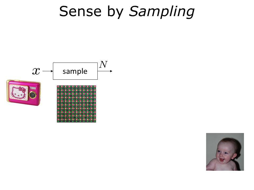 Sense by Sampling sample