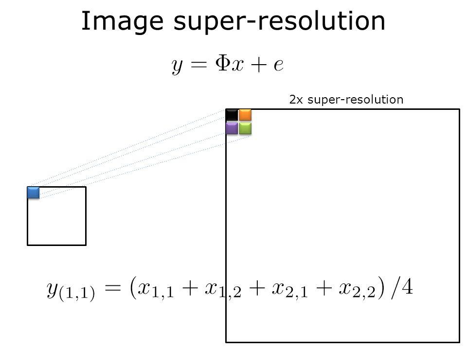 Image super-resolution 2x super-resolution