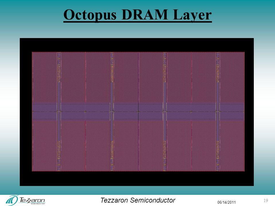 Tezzaron Semiconductor 06/14/2011 Octopus DRAM Layer 19