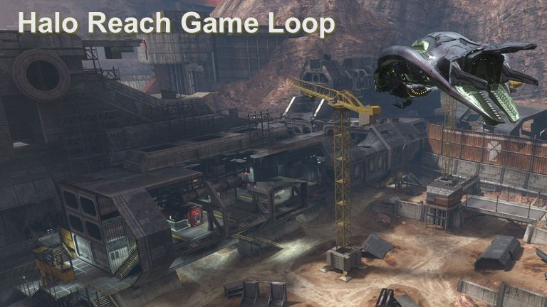 Advances in Real-Time Rendering in Games Halo Reach Game Loop