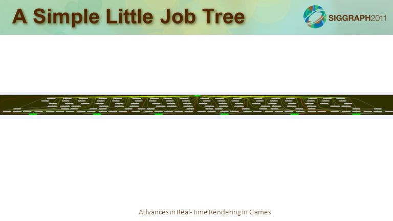 Advances in Real-Time Rendering in Games A Simple Little Job Tree