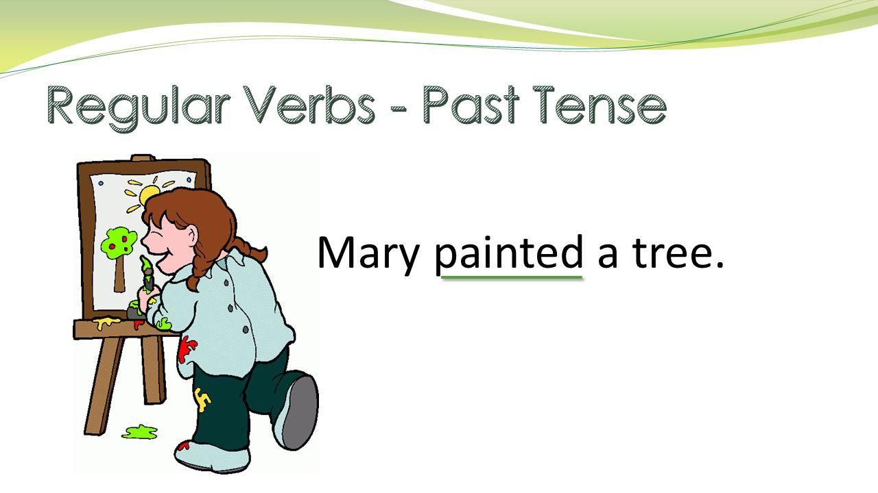 Rules for adding – ed add -ed Present Tense Past Tense Helping Verb + Past Tense startstartedhas started traveltraveledhave traveled