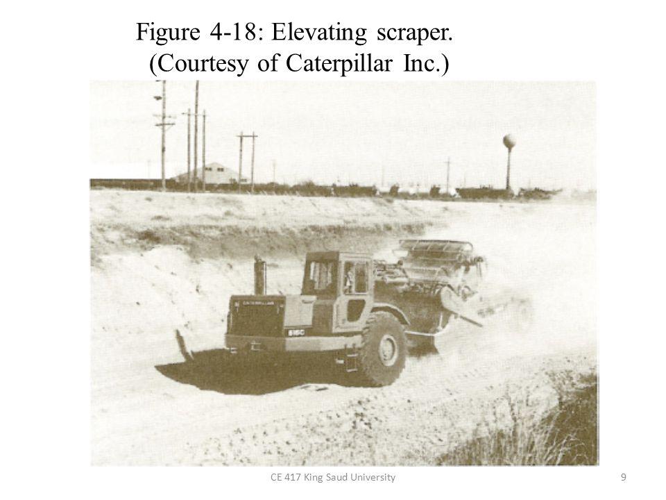 9 Figure 4-18: Elevating scraper. (Courtesy of Caterpillar Inc.)