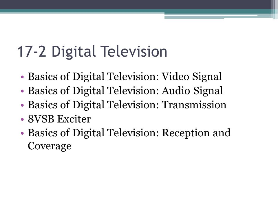 Screen Ratio ATSC allows transmission of HDTV in the 16x9 screen format.