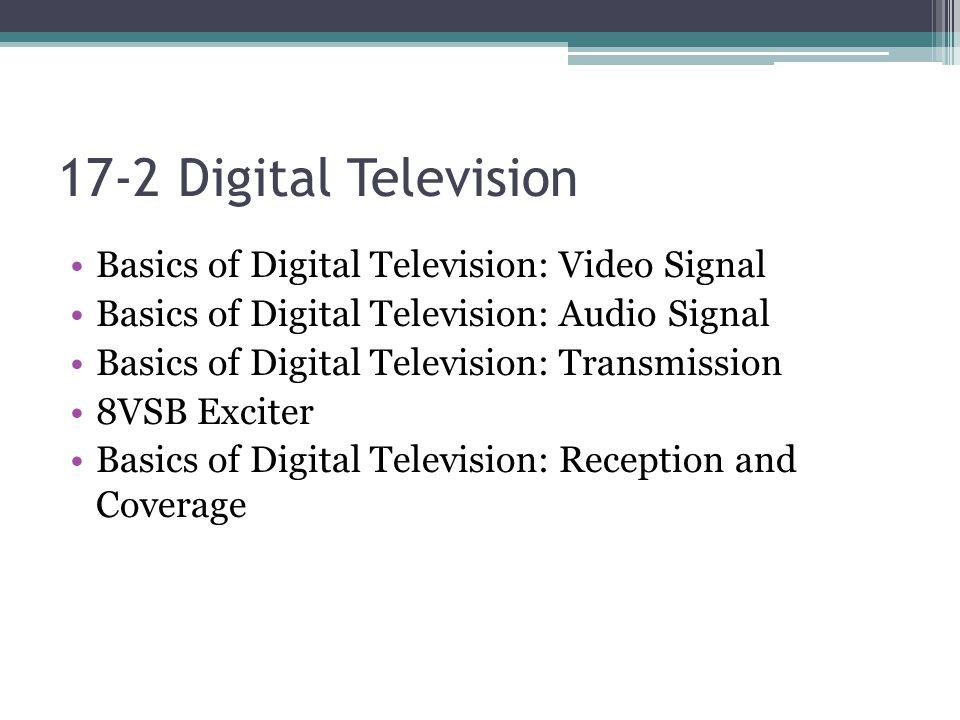 ATSC Transmission Verification Figure 17-8 A simplified block diagram of the ATSC digital transmission system.