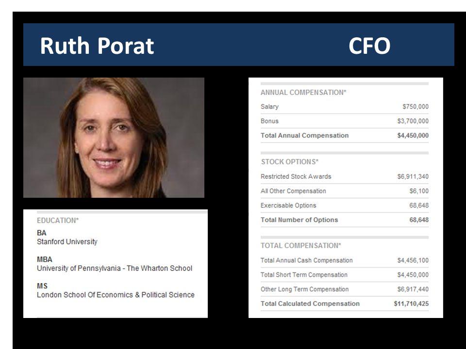 Ruth Porat CFO