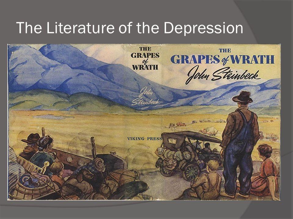 The Literature of the Depression