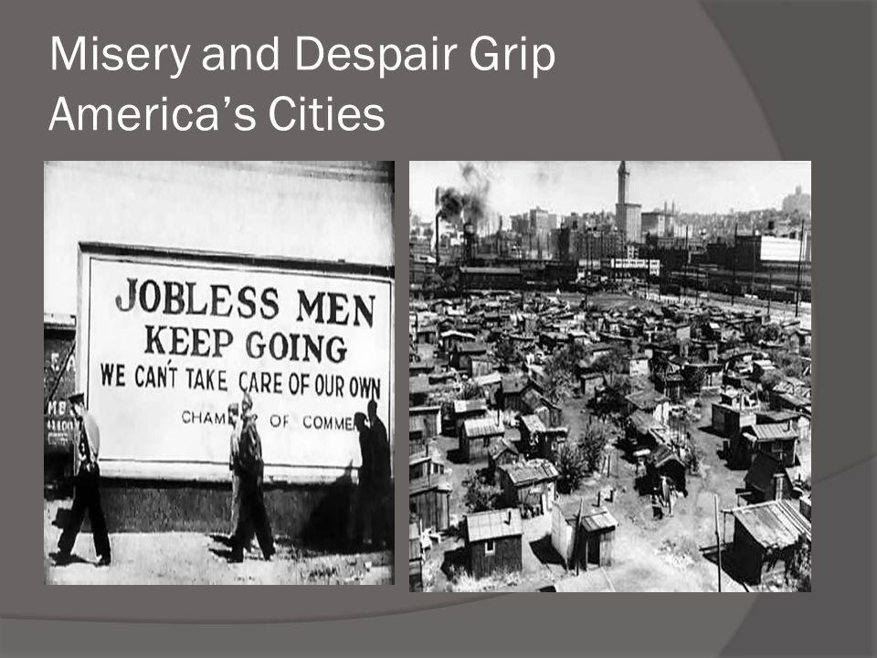 Misery and Despair Grip America's Cities