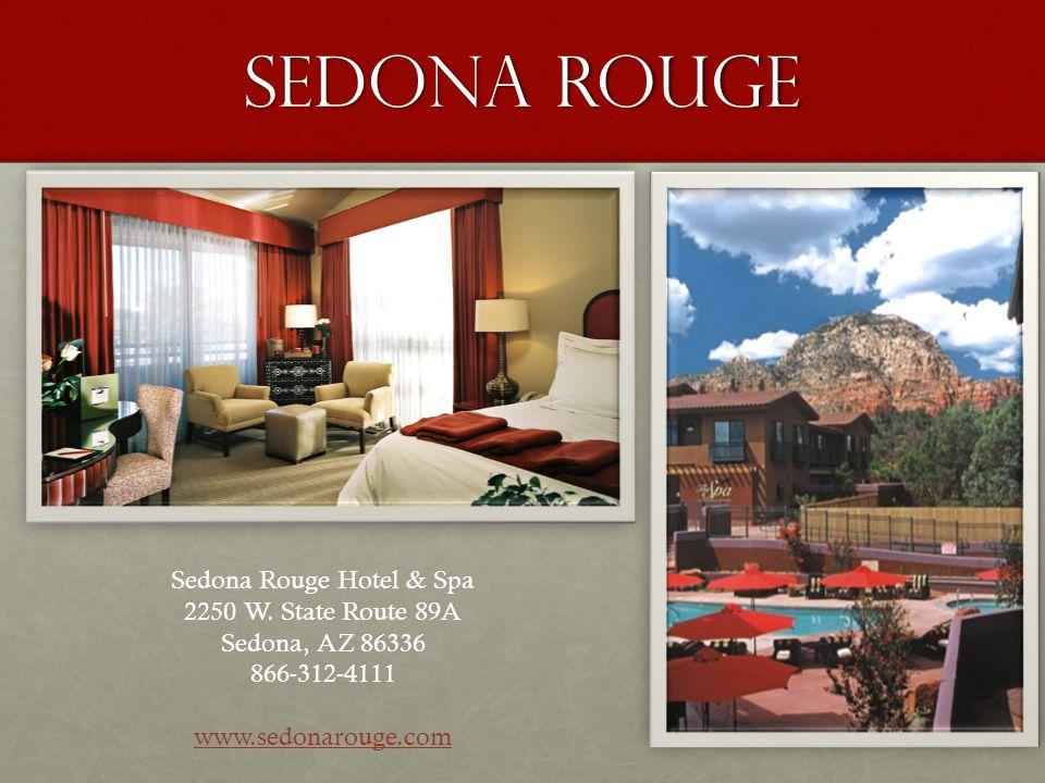 Sedona rouge Sedona Rouge Hotel & Spa 2250 W.