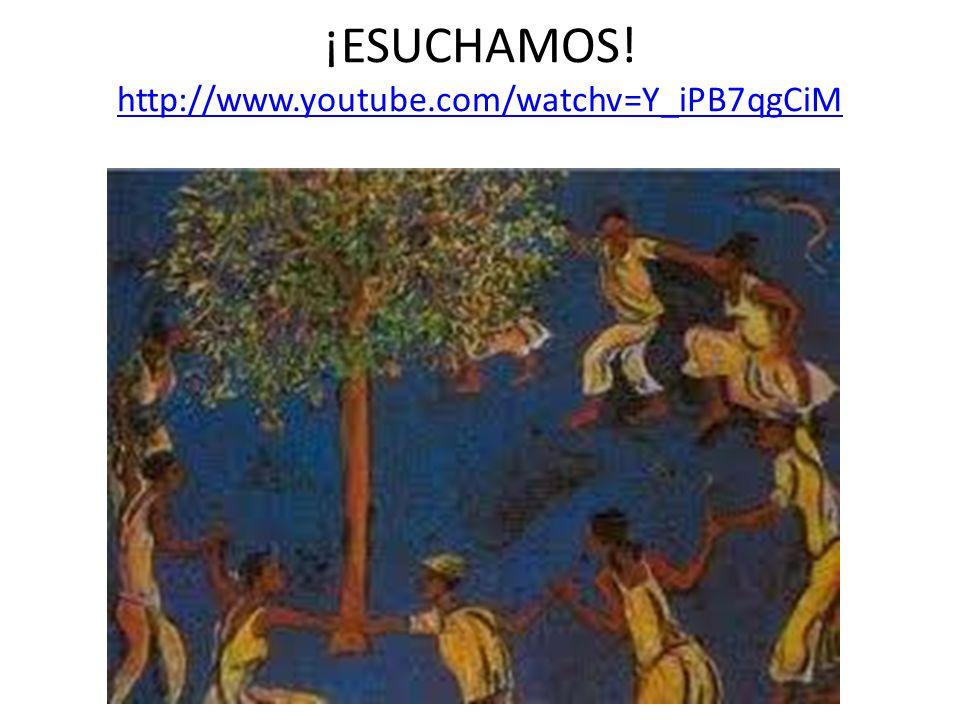 ¡ESUCHAMOS! http://www.youtube.com/watchv=Y_iPB7qgCiM http://www.youtube.com/watchv=Y_iPB7qgCiM