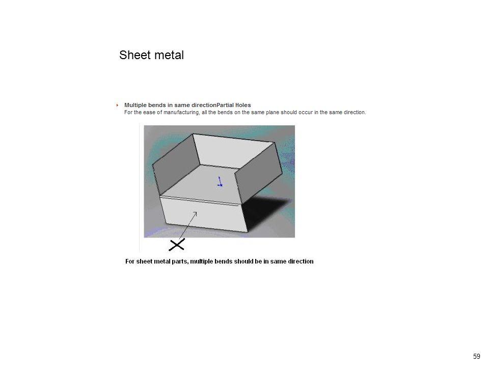 59 Sheet metal