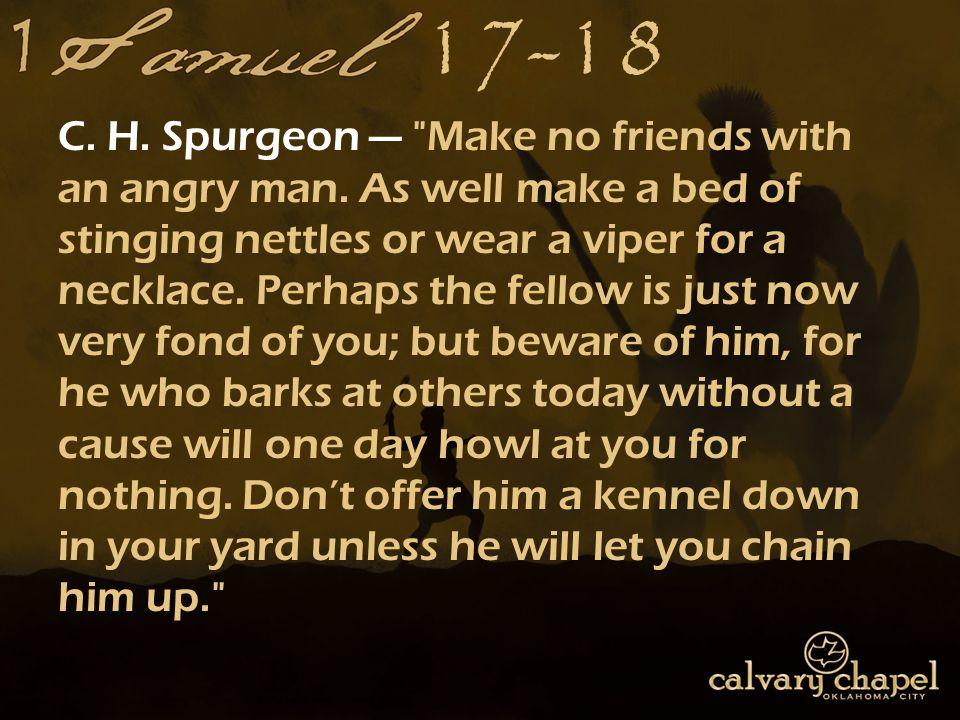 17-18 C. H. Spurgeon —