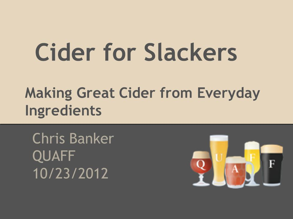 What is Cider.