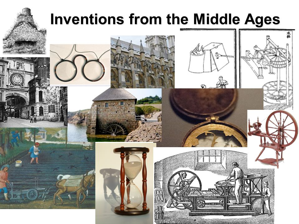 Inventions from the Middle Ages