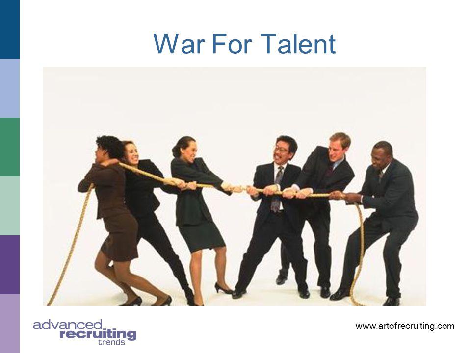 www.artofrecruiting.com War For Talent