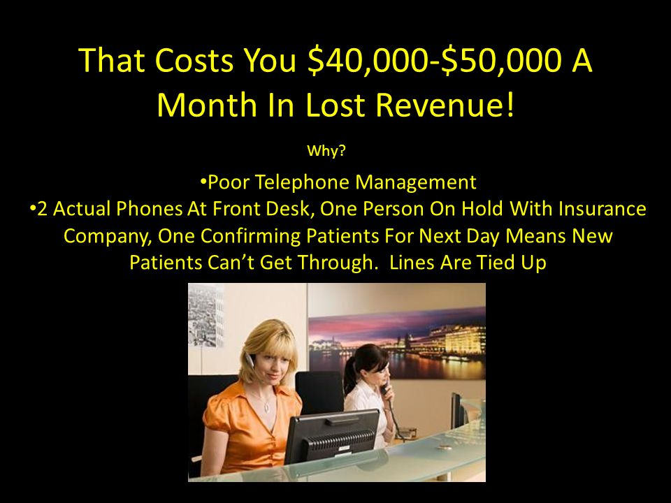 How Much Is A New Patient/Client Worth.