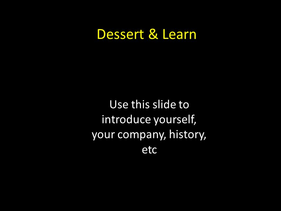 Dessert & Learn How Your Telephone Is Costing You NP's & $1000's Every Month Your Name