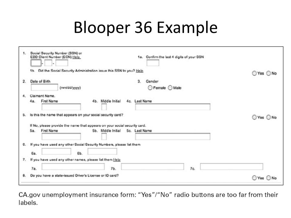 Blooper 36 Example