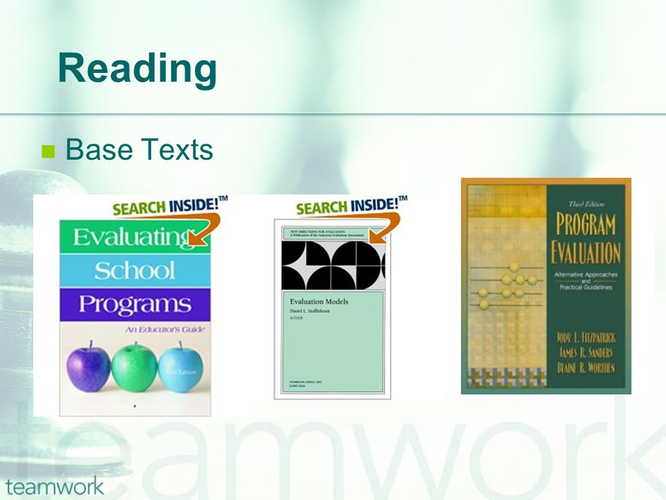 Reading Base Texts