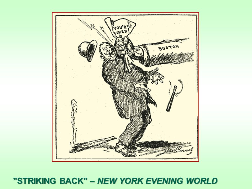 STRIKING BACK – NEW YORK EVENING WORLD