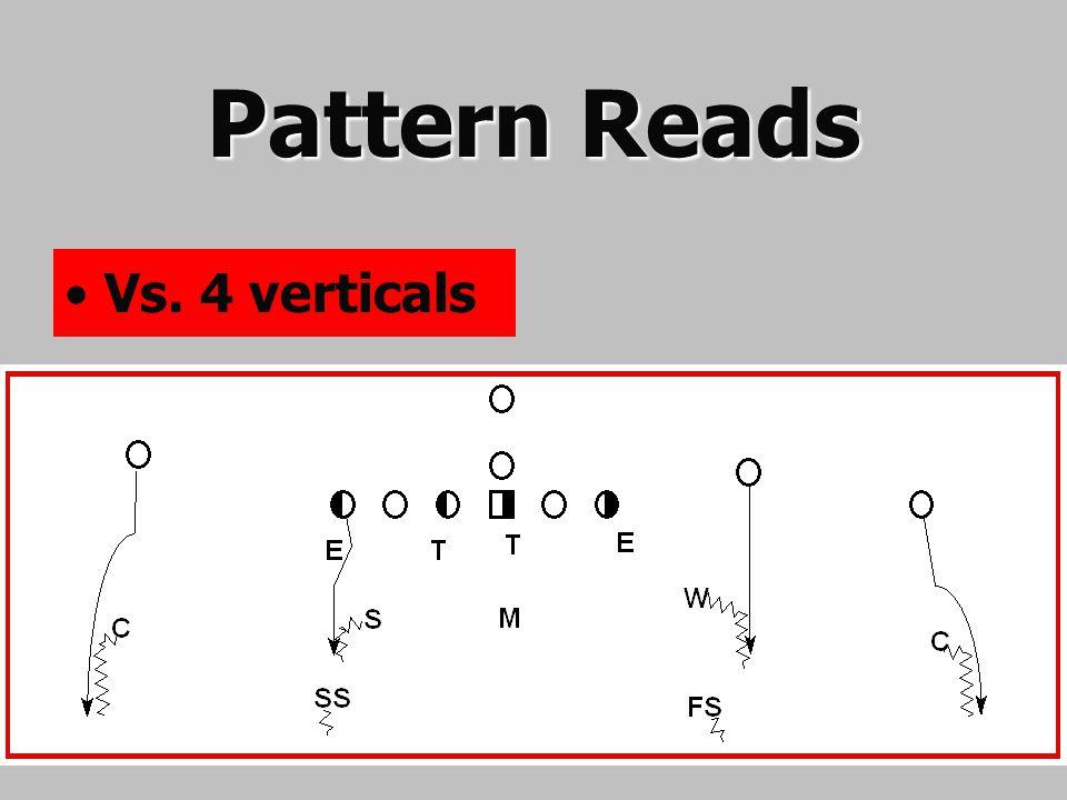 Pattern Reads Vs. 4 verticals