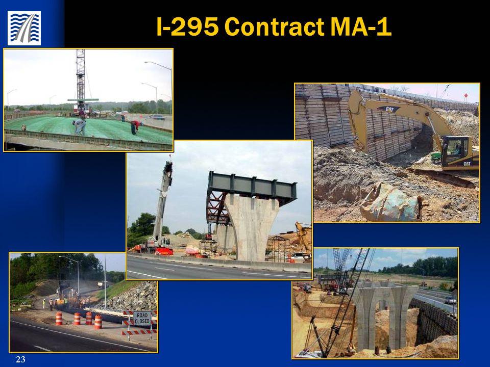 23 Woodrow Wilson Bridge Project I-295 Contract MA-1