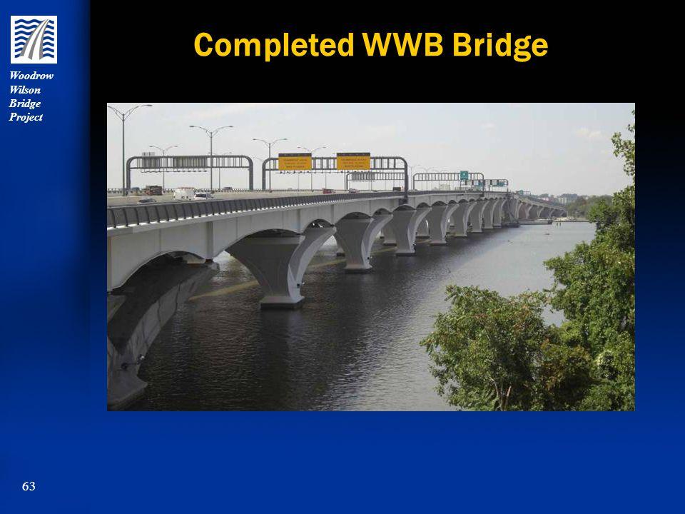 Woodrow Wilson Bridge Project 63 Completed WWB Bridge
