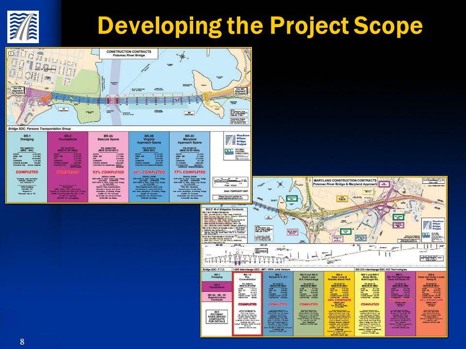 59 Woodrow Wilson Bridge Project Bridge Contract BR-3C Bid Price Contractor Kraemer/ American Bridge/ Trumbull Fru-Con Tidewater/ Traylor Cianbro/ Cherry Hill $0 $50,000,000 $100,000,000 $150,000,000 $200,000,000 $191,182,746 $197,511,947 $203,090,016 $213,278,210 -25.0% -22.5% -20.3% -16.3% $275,000,000 Engineer's Estimate $254,895,721 Engineer's Estimate $254,895,721 Pier Concrete Superstructure Concrete Fabricated Structural Steel Epoxy Coated Rebar 165 each Round Steel (3' – 4.5' Diameter) Piles Pier Concrete Superstructure Concrete Fabricated Structural Steel Epoxy Coated Rebar 165 each Round Steel (3' – 4.5' Diameter) Piles 35,900 Cubic Yards 27,200 Cubic Yards 40,003,000 Pounds 11,346,300 Pounds 25,500 Linear Feet 35,900 Cubic Yards 27,200 Cubic Yards 40,003,000 Pounds 11,346,300 Pounds 25,500 Linear Feet Approximate Quantities $25,000,000 $75,000,000 $125,000,000 $175,000,000 $250,000,000 $225,000,000
