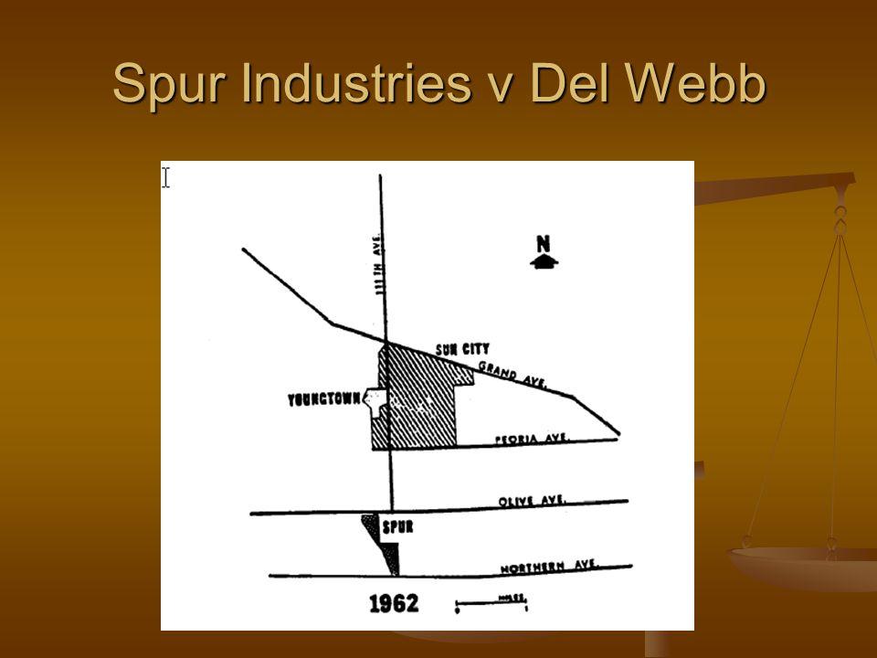 Spur Industries v Del Webb