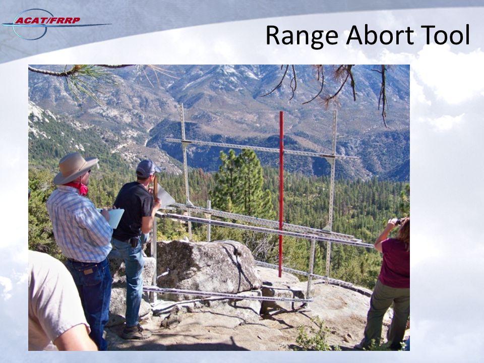 Range Abort Tool