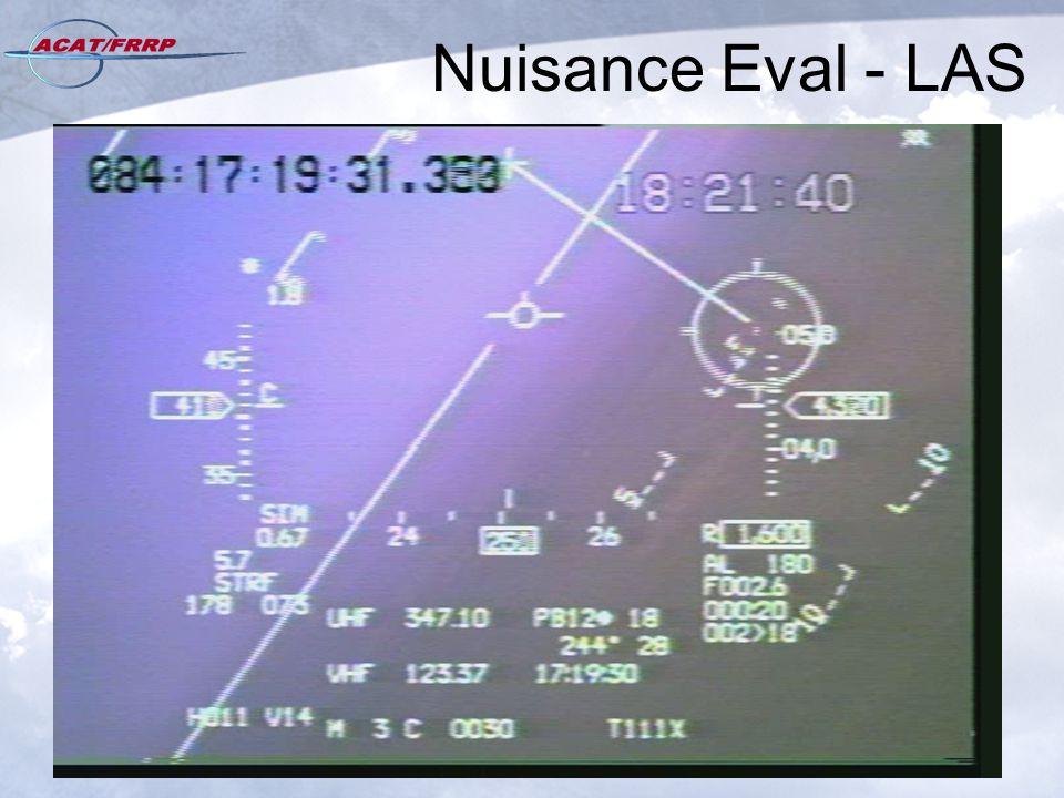 Nuisance Eval - LAS
