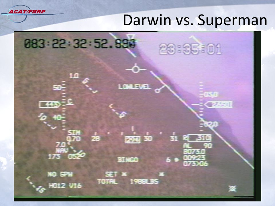 Darwin vs. Superman