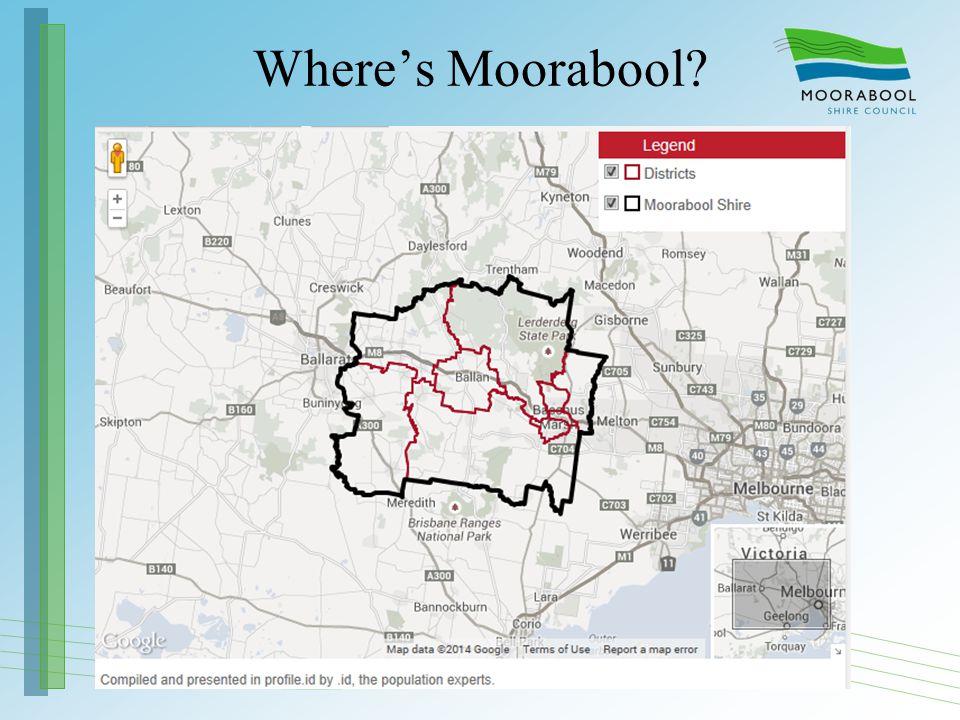 Where's Moorabool?
