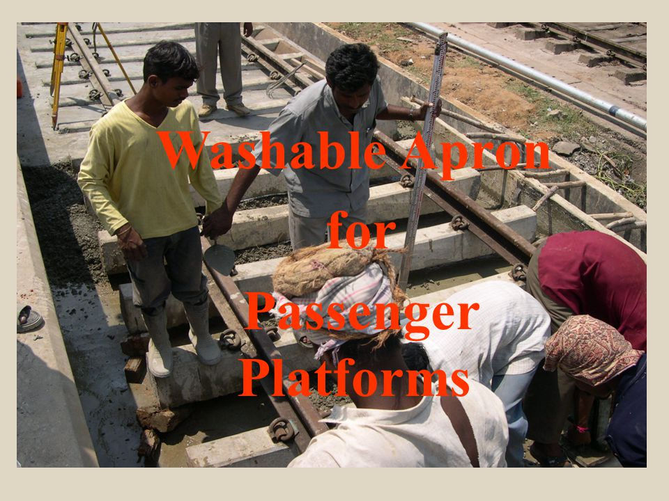 welcome Washable Apron for Passenger Platforms
