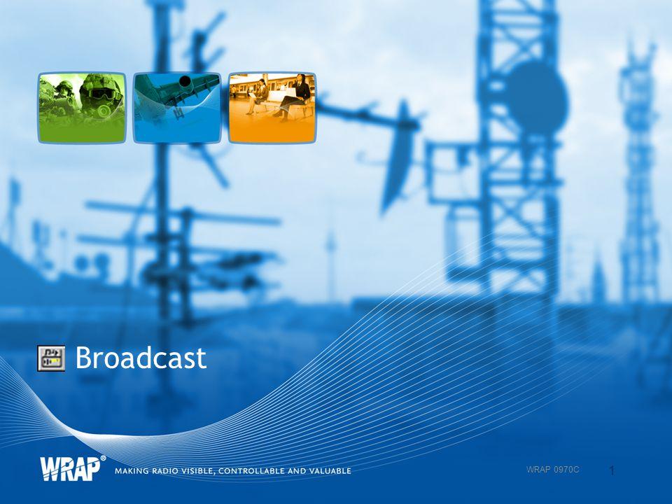 Broadcast 1 WRAP 0970C