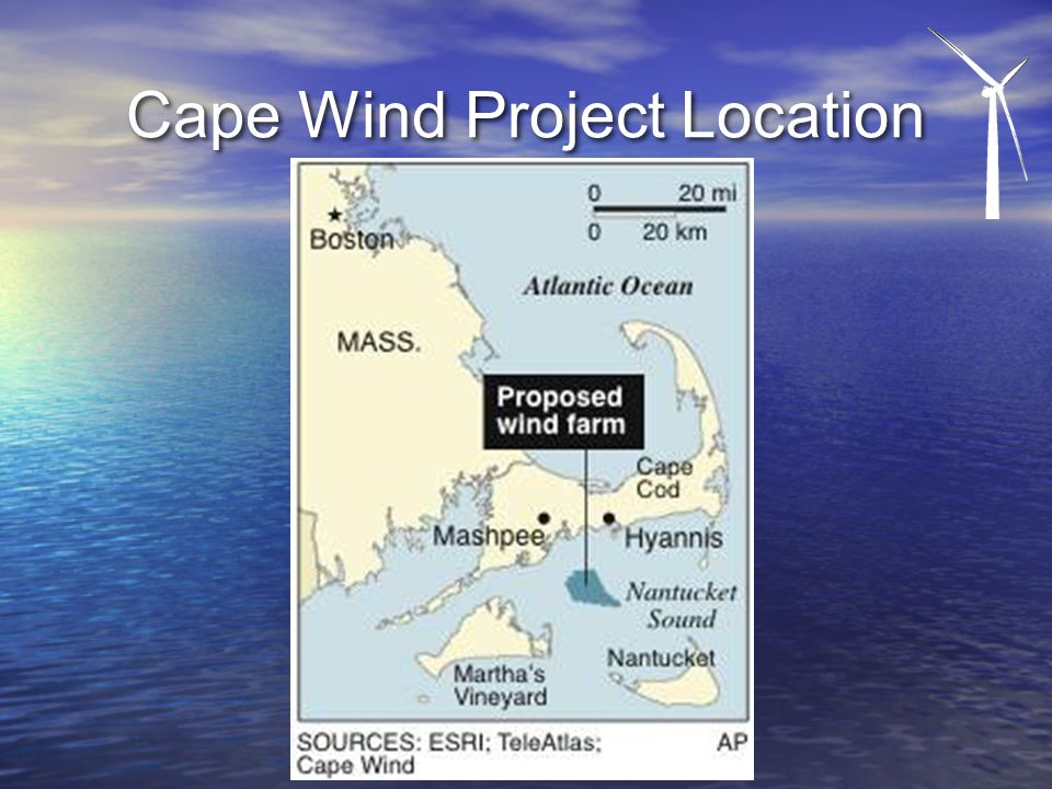 Cape Wind Project Location