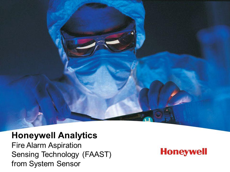 Honeywell Analytics Fire Alarm Aspiration Sensing Technology (FAAST) from System Sensor