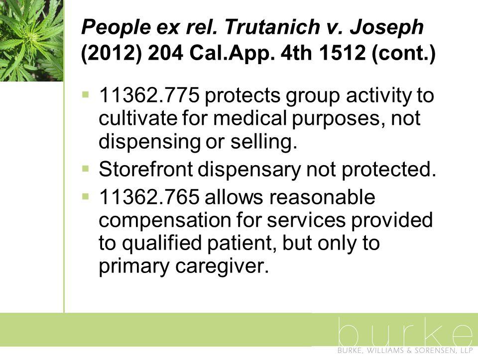 People ex rel. Trutanich v. Joseph (2012) 204 Cal.App.