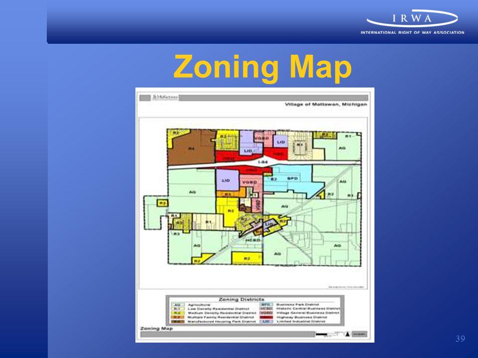 39 Zoning Map